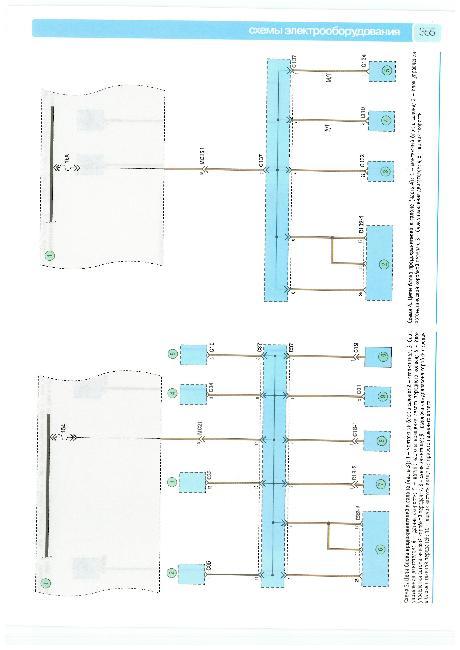 Цветные схемы электрооборудования Hyundai Matrix