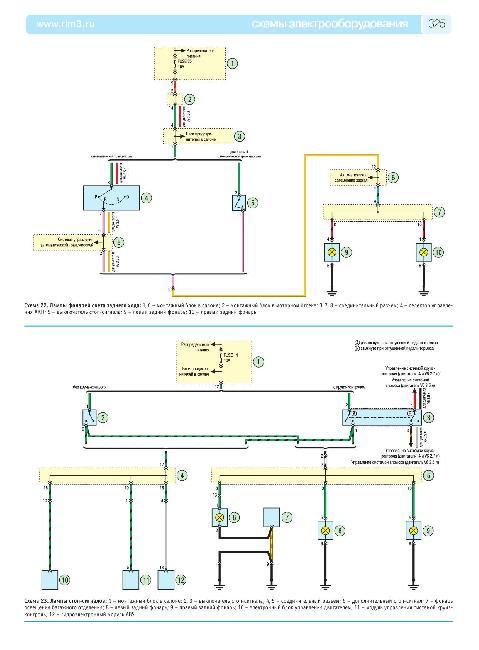 Цветные схемы электрооборудования Hyundai Santa Fe (CM) с 2006