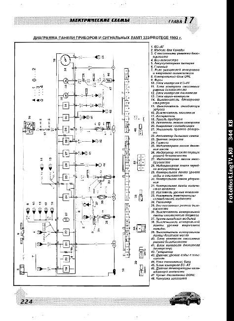 Схема мазда титан 1999