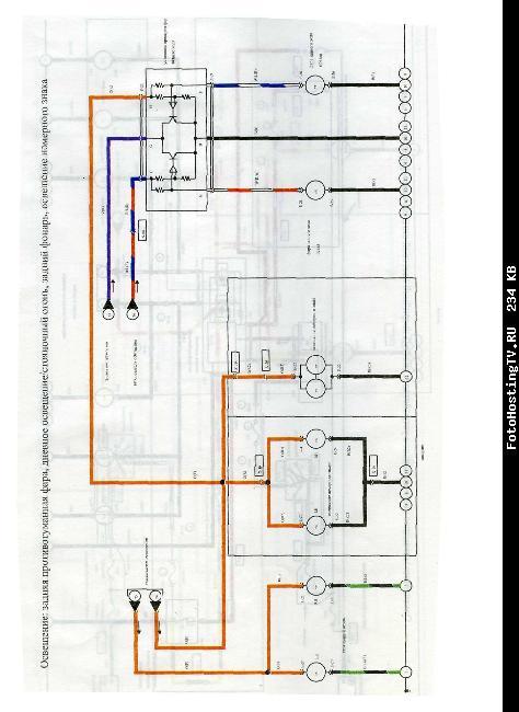 Цветные схемы электрооборудования Mazda 626 1992-2002 гг