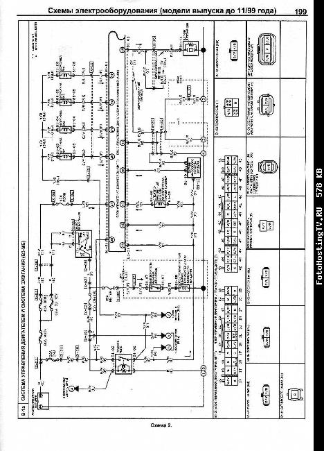 Схема оборудования на мазду 6