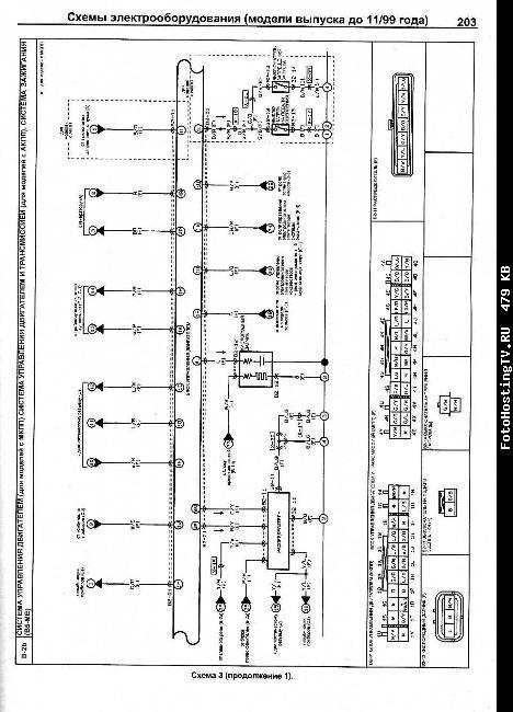 Схемы электрооборудования MAZDA DEMIO 1996-2002 бензин