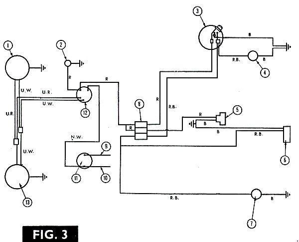 Схемы электрооборудования трактора Massey Ferguson 135