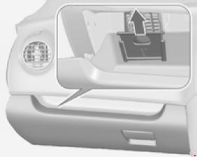 Назначение предохранителей Opel Meriva B