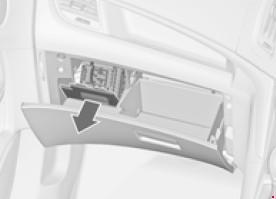 Назначение предохранителей Opel Zafira Tourer