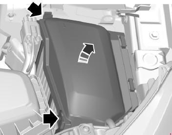 Назначение и расположение предохранителей Ford S-Max (рестайлинг)