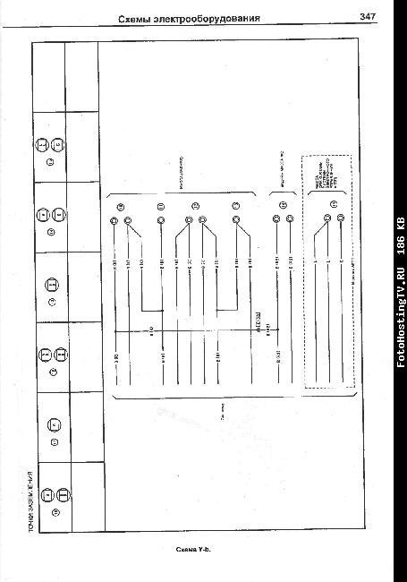 Электрическая схемы MAZDA 2