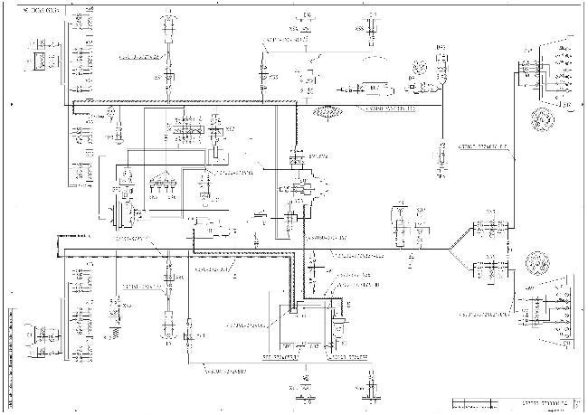 Схема электрическая принципиальная на автомобиль МАЗ-437030 с двигателем Deutz