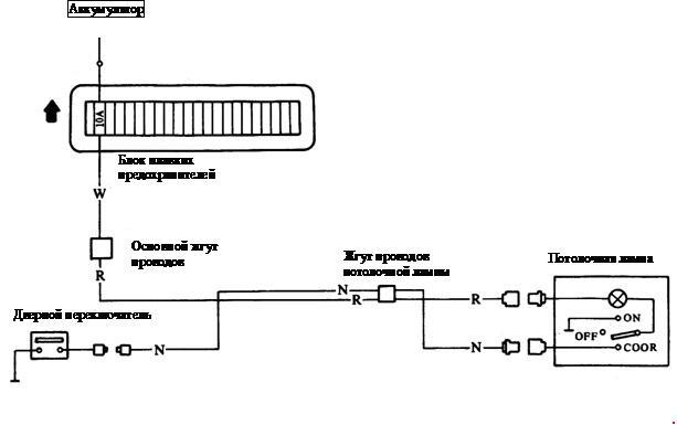 Монтажная схема потолочной лампы Yuejin серии NJ1080