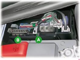 Назначение и расположение предохранителей Peugeot 107 рестайлинг 2009 года (09-12)