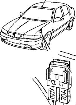 Назначение предохранителей Rover 400
