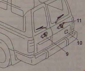 Назначение и расположение предохранителей и реле Toyota Land Cruiser 80