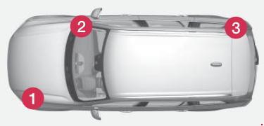 Назначение и расположение предохранителей Volvo XC90 II с 2014 года выпуска