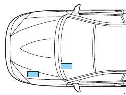Схема предохранителей и реле Ford Cougar