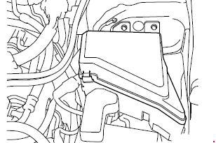 Назначение и расположение предохранителей Subaru Legacy V (с 2009 г.)