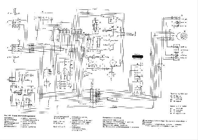 Принципиальная электрическая схема IFA Multicar