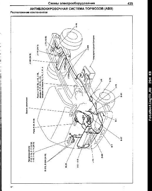 Схемы электрооборудования ISUZU ELF / N-series 1993-2004, NISSAN ATLAS 1999-2004 дизель