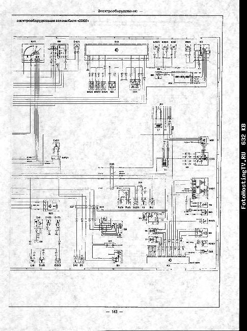 Скачать Схемы электрооборудования Mercedes W124 1985-1993.  Кликните на картинку, чтобы увидеть полноразмерную версию.