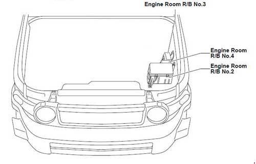06-'14 toyota fj cruiser fuse diagram  knigaproavto.ru