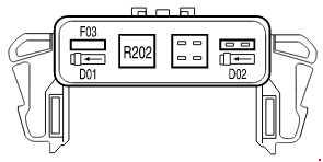 2004-2008 Ford F150 Fuse Box Diagram