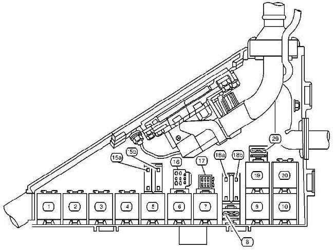 1997–2001 Cadillac Catera Fuse Box Diagram » Fuse Diagram | 1998 Cadillac Catera Fuse Diagram |  | knigaproavto.ru