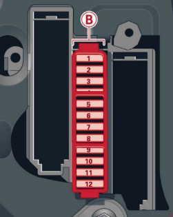 Схема предохранителей Audi A8 D4 (2010-)