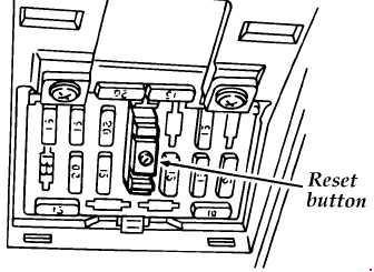 1994-1997 Ford Aspire Fuse Box Diagram