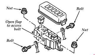 1994-1997 ford aspire fuse box diagram » fuse diagram 1997 ford explorer fuse box diagram