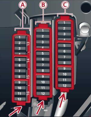 13-'16 Audi A5 Fuse Box Diagramknigaproavto.ru