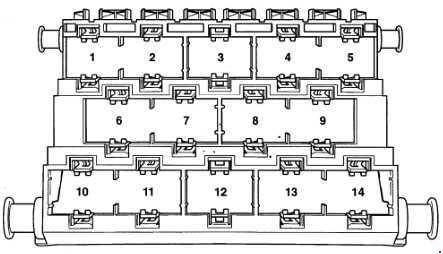 Volkswagen Lupo Fuse Box Diagram