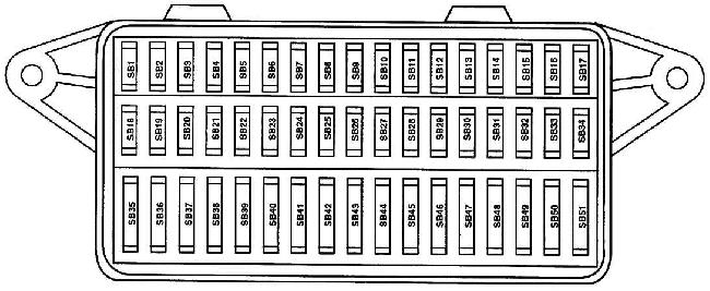 volkswagen lupo fuse box diagram fuse diagram rh knigaproavto ru vw caddy fuse box diagram vw fuse box diagram alltrack