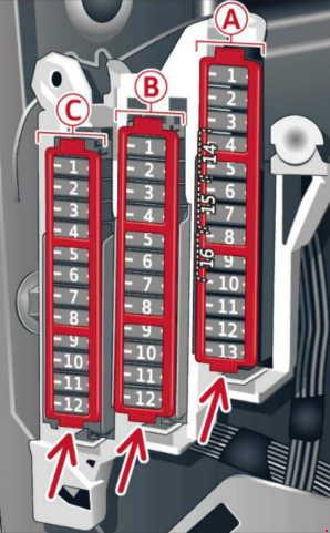 audi a6 c7 2012 fuses box diagram  fuse diagram audi a6 c7 2012 fuses box diagram
