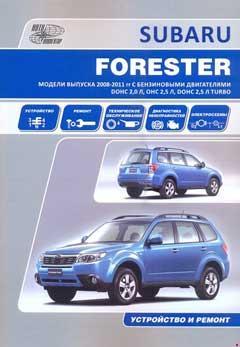 Схема предохранителей Subaru Forester SH (2008–2012)
