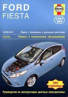 Схема предохранителей и реле Ford Fiesta mk6 (2008-2017)