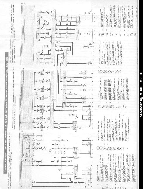 Схемы электрооборудования Audi