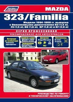 Назначение и расположение предохранителей Mazda 323F модели выпуска с 1995 года