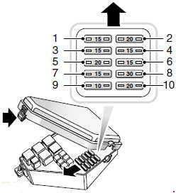 land rover freelander l314 fuse box diagram 1997 2006 187 fuse diagram