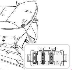 1998-2005 Land Rover Discovery 2 Fuse Box Diagram
