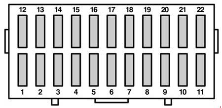1996-2008 Ford Ka Fuse Box Diagram » Fuse Diagram | Ford Ka Fuse Box Under Bonnet |  | knigaproavto.ru