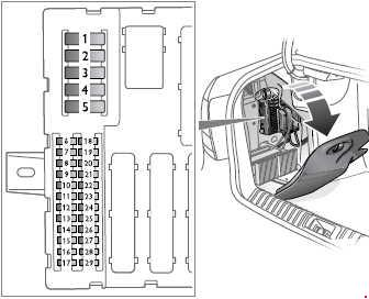 fuse box for 2003 saab 9 3
