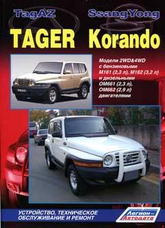 Схема предохранителей и реле SsangYong Korando, ТагАЗ Tager, Daewoo Korando