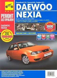 Цветные схемы электрооборудования Daewoo Nexia N100 и N150