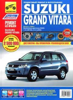 Реле и предохранители Suzuki Grand Vitara / Escudo бензин. 1,6, 2,0 л. / дизель. (2005-2008)