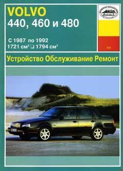 Принципиальные схемы Volvo 440, 460, 480 1987-1992