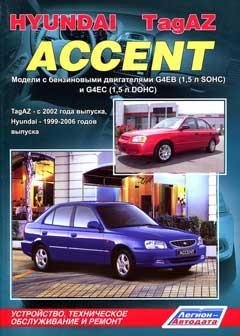Схема предохранителей и реле Hyundai Accent LC (1999-2013)