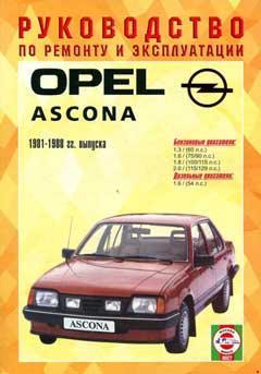 Перечень предохранителей Opel Ascona 1981-1988