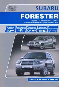 Схема расположения предохранителей и реле Subaru Forester SG (2003–2008)