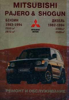 Цветная схема Mitsubishi Pajero 1982-1998 года выпуска