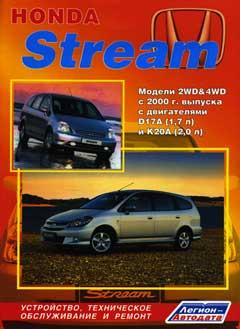 Схема расположения предохранителей и реле HONDA STREAM с 2000