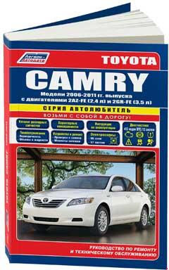 Цветные схемы электрооборудования Toyota Camry 2007